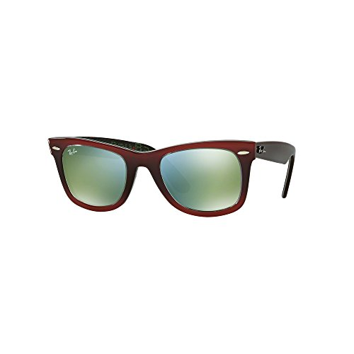 Ray Ban RB2140 12022X 50 Gradient Red on Light Red Sunglasses Bundle-2 - Rb2140 Red
