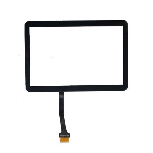 Generic New Black Touch Screen Digitizer Touch Display Outer Front Glass Lens Replacement FOR Samsung P5113 p5113 Galaxy Tab 2 10.1 With Free Tools
