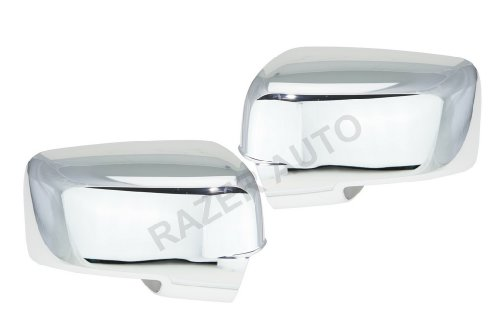Razer Auto Mirror W/TURN SIGNAL Chrome Mirror Cover for 2009-2013 DODGE RAM 1500
