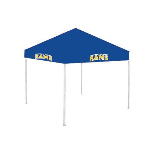 Angelo State 9 ft x 9 ft Royal Tent 'Arched Angelo State Rams' by CollegeFanGear