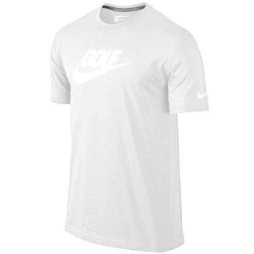 Nike Golf Men's Sport S/S Verbiage T Shirt - 2XL - White