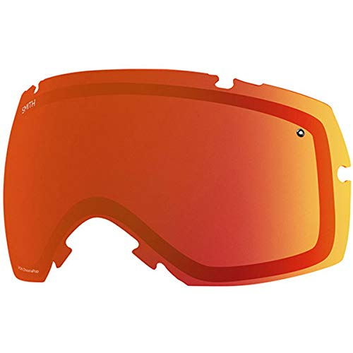 - Smith Optics IOX/IOX Turbo Adult Replacement Lense Snow Goggles Accessories - Chromapop Sun Red Mirror/One Size
