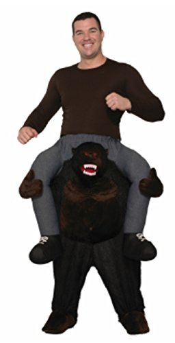 Forum Men's Gorilla Ride-on Deluxe Costume