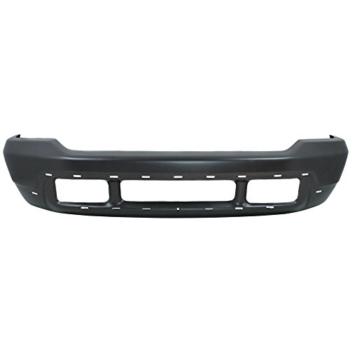 rsion 00-05/F-Series Super Duty 99-04 Front Bumper Gray w/Pad (Upper Valance) and Lower Valance Holes ()