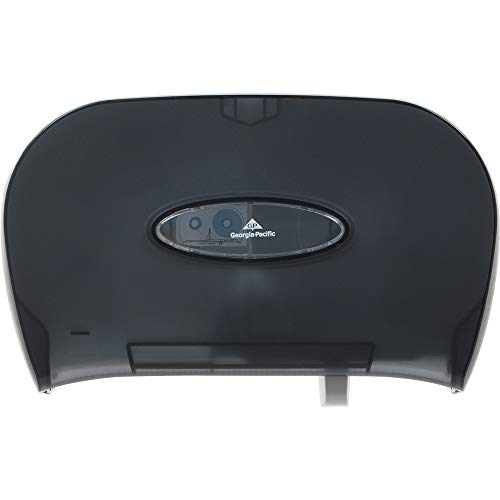 GEP59206 - Georgia-Pacific Side-by-Side Covered Bathroom Tissue Dispenser by Georgia-Pacific