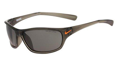 Nike Golf Rabid Sunglasses, Matte Deep Pewter/Total Orange Frame, Grey - Nike Sunglasses Orange