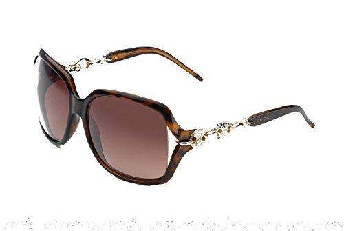 Gucci 3584/N/S 00KS J6 Havana/Brown Gradient Sunglasses Bundle-2 - Sunglasses Gucci Chain