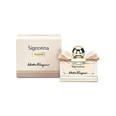 Salvatore Ferragamo Signorina Eleganza Eau de Parfum Spray for Women, 3.4 Ounce