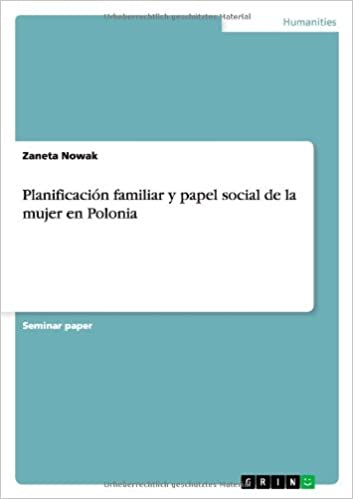 Book Planificación familiar y papel social de la mujer en Polonia
