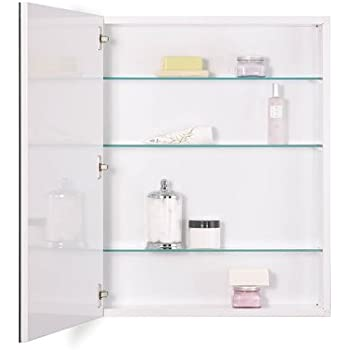 NuTone 52WH304PF Metro Classic Oversize Medicine Cabinet With Flat Trim, 30  By 4 Inch