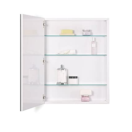 Beau NuTone 52WH304PF Metro Classic Oversize Medicine Cabinet With Flat Trim, 30  By 4 Inch