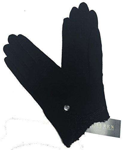 Lauren Ralph Lauren Women's Wool/Cashmere Blend Gloves X-Large