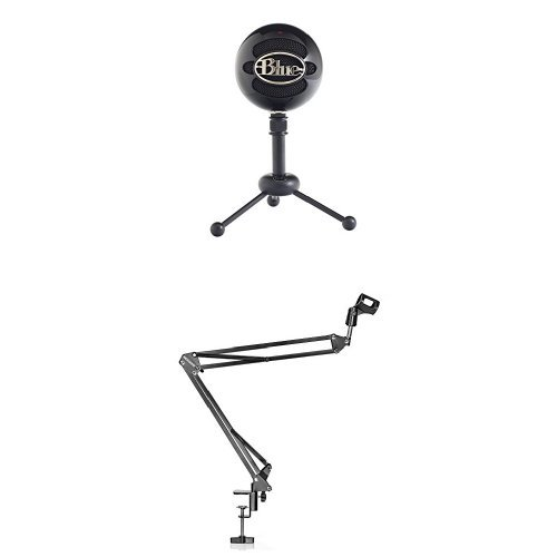 Blue Snowball USB Microphone  with NEEWER Microphone Suspens