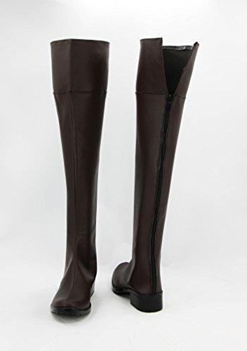 Attack on Titan Shingeki No Kyojin Anime Cosplay Shoes Boots Custom Made eJduR3tm