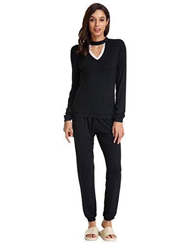 Lace Lounge Pants - 4
