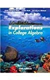 Explorations in College Algebra 5th Edition with Trig Supplement from Tech Math 4th Edition and WP SA 5. 0 Set, Kime, Linda Almgren, 111814211X