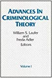 Advances in Criminological Theory, , 0887381820