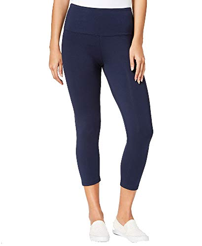 Style & Co. Cropped Tummy-Control Leggings (Industrial Blue, L)