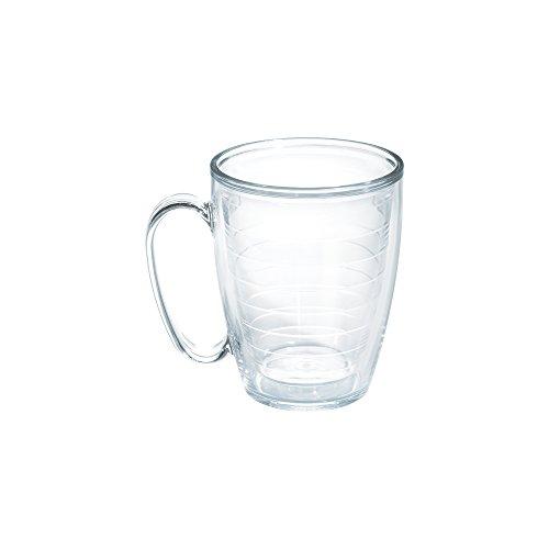 Tervis Mug, Clear, 16 oz, Clear (Insulated Plastic Mug)