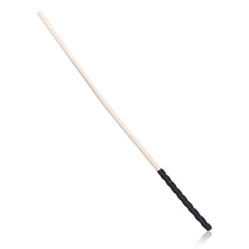 (First View Long Natural Rattan Wooden Flirting Spanking Tools 60cm Sex Games,Black (60 * 0.8cm))