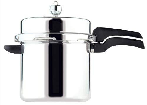 Prestige Hi Dome Aluminium 6 Litre Pressure Cooker - Silver