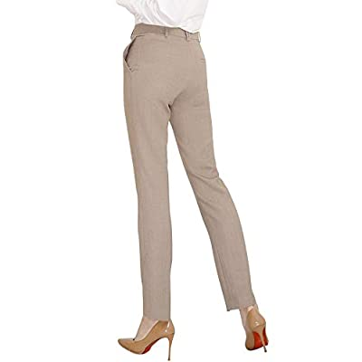 Marycrafts Women's Office Work Dress Slacks Pants Trousers Tall at Women's Clothing store
