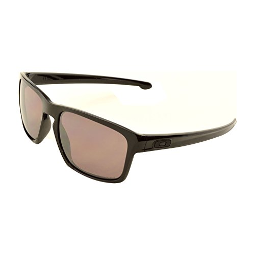 9536f6d9d2b Oakley Mens Sliver Lifestyle Sunglasses One Size Polished Black Prizm Daily  Polarized (B00SWLHRNW)