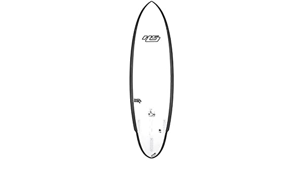 haydenshapes Unisex Shred Sled futureflex Tabla de surf Transparente transparente Talla:0 6