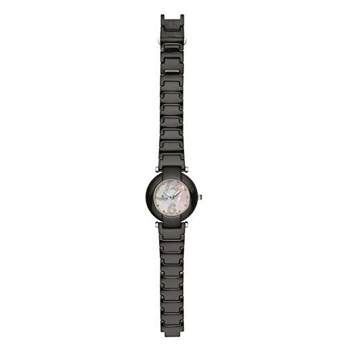 Charmex Dynasty 6272 35mm Ceramic Case Black Ceramic Synthetic Sapphire Women's Watch