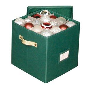 "Holiday Storage Ornament Chest Size: 12"" x 12"" x 12"""