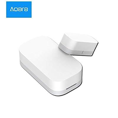 Aqara Door Window Sensor Smart Home Automation and Security Works with Apple HomeKit When Used with Aqara Hub in USA Stock