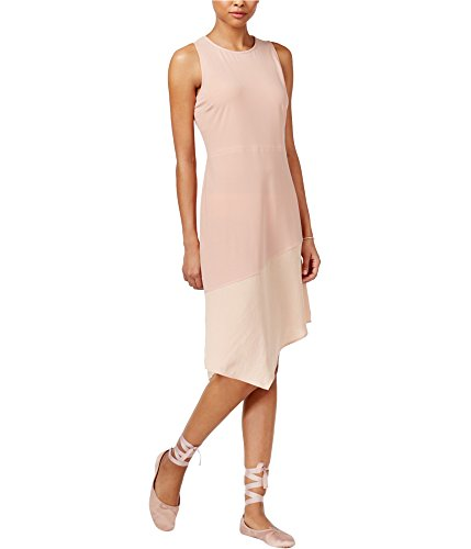 Rachel Roy Rachel Womens Asymmetrical Combo Dress Pink for sale  Delivered anywhere in USA