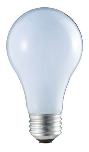 Philips 226969 53-Watt A19 Halogen Light Bulb, Natural Light, Dimmable, 2-Pack