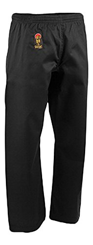 Pro Force Gladiator 8oz Combat Karate Pants - Black - Size 1