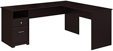 Best home office desk: Bush Furniture Cabot 72W L Shaped Computer Desk