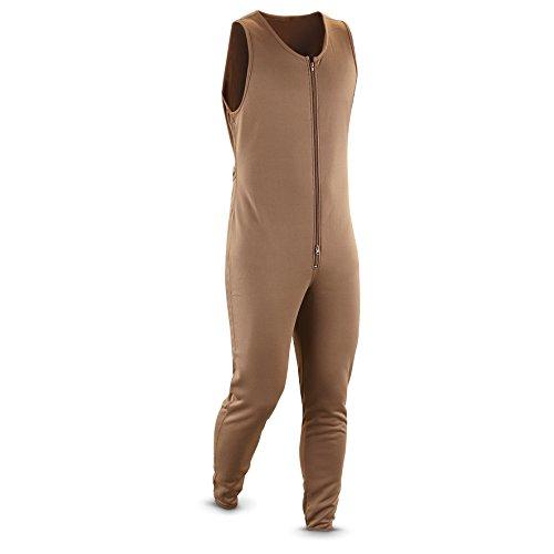 Guide Gear Union Suit, BROWN, XL