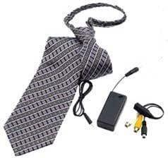 NT-18 Corbata espia. Cámara espia oculta en corbata. 550TVL 0.2 ...