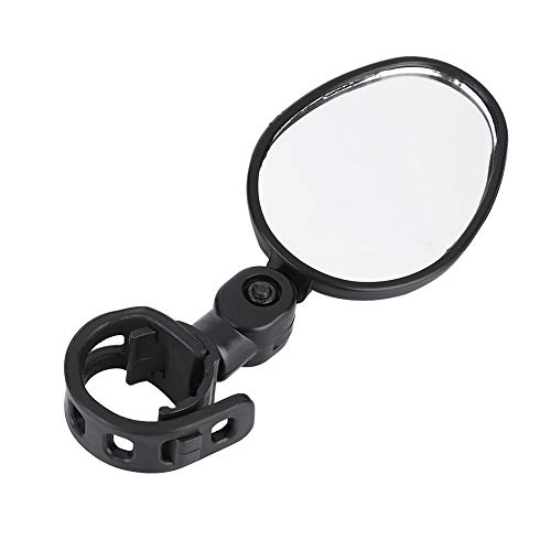 OKBY Bike Mirror – Bicycle Handlebar Review Rear Back View 360 Rotation Mirror for Mountain Road Bikes,Black