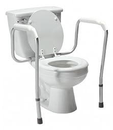 Lumex Versaframe Toilet Safety Rail - Adjustable Height QTY: 1