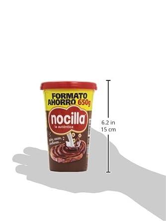 Nocilla - La auténtica - Crema al cacao con avellanas - 650 g: Amazon.es: Alimentación y bebidas