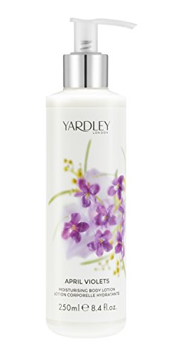 APRIL VIOLETS - YARDLEY LONDON BODY LOTION 8.4 oz / 250 ml