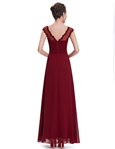 Ever-Pretty HE08619RD06 - Vestido para mujer Rojo