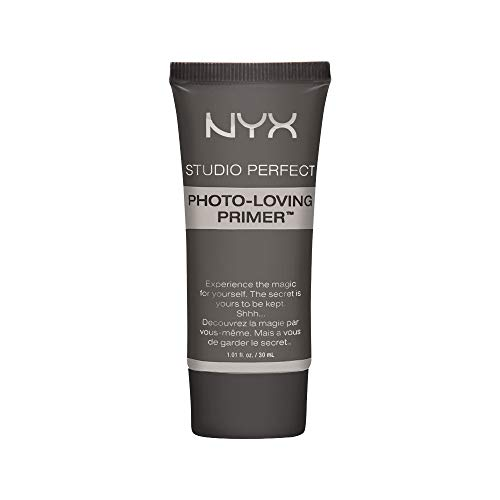 NYX PROFESSIONAL MAKEUP Studio Perfect Primer – Clear, Vegan Formula