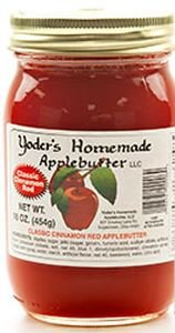 Yoder's Homemade Apple Butter-classic Red- 16 Oz Jar by Yoders (Image #1)