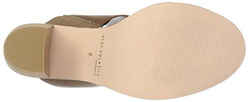 Molto Sandalo Increspato Donna Marrone Con Volatile Da Tacco 44OwvnACqx