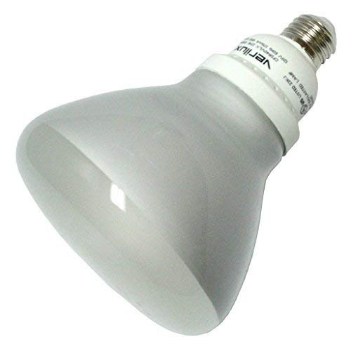 R40 Compact 23w - Verilux 23 Watt Natural Spectrum Compact Fluorescent R40 Flood Bulb, Single Pack by Verilux