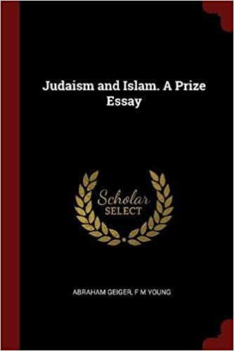 Book Judaism and Islam. A Prize Essay
