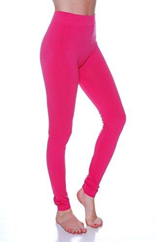 Sofra Womens Length Seamless Leggings