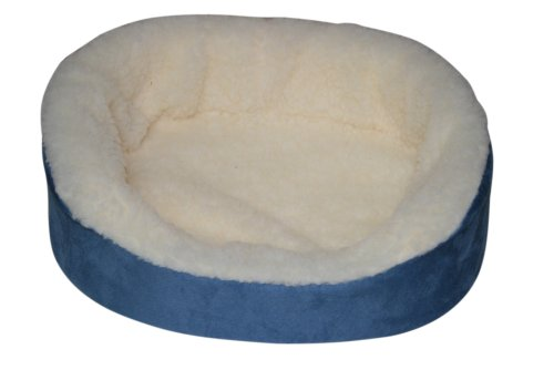 (Casual Pet Products Lounger, Mini, Light Blue)