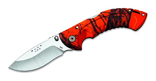 Buck 395 Omni Hunter 10 PT Folding Hunting Knife (Oak Blaze Camo)